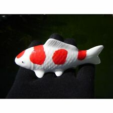 Koi Fish Porcelain Figurine Nishikigoi - Konhoku 4 steps ( Watch The Video)