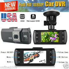 "HD Full 1080P 2.7"" LCD Car DVR Dash Camera Video Recorder G-sensor Night Vision"