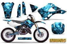 KAWASAKI KX125 KX250 99-02 GRAPHICS KIT CREATORX DECALS INFERNO BLI
