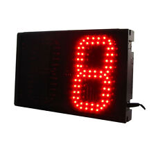 Red 6'' Large Digital 2Digits Laps To Go Timer LED Digital Counter With Buttons