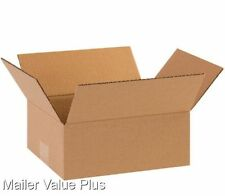 100  10 x 8 x 4 Corrugated Shipping Boxes Packing Storage Cartons Cardboard Box