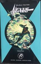 NEXUS Archives Volume 4 (Dark Horse, USA 2006) Hardcover Steve Rude