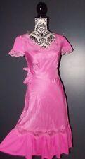 MANOUSH  ROBE DRESS SOIE SAUVAGE  ESPRIT LINGERIE T 38/40