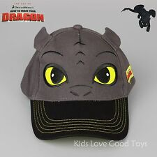 Toothless Night Fury Cap Sport Baseball Hat How to Train Your Dragon For Kids