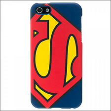 Superman DC Comics Hardshell Hard Rubber Case Cover iPhone SE 5 5S Licensed NEW