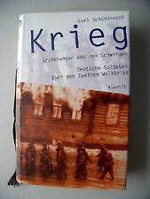 Krieg Erzählungen aus dem Schweigen Soldaten 2. Weltkri