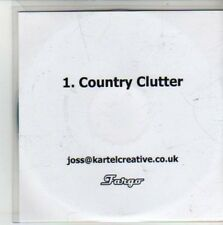 (CG416) Country Clutter, Dolorean - DJ CD