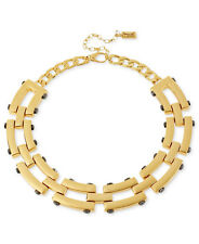 KENNETH COLE New York 'Modern Status' Gold-Tone Rivet Link Collar Necklace $135