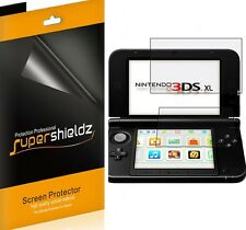 3X Supershieldz HD Clear LCD Screen Protector Shield Cover For Nintendo 3DS XL