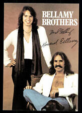 Bellamy Brothers Autogrammkarte TOP ## BC 47947 D