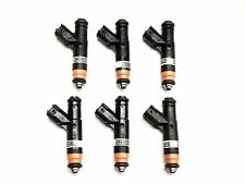 SET OF 6 FORD FUEL INJECTORS 2002-2004 FORD F-150 4.2L V6 YR3E-A4A