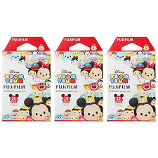 3 Packs 30 Photos Disney Tsum Tsum FujiFilm Fuji Instax Mini Film Polaroid 7S 8