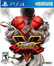 Street Fighter V (Sony PlayStation 4, 2016) Standard Edition