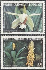 New Caledonia 1986 Indigenous Plants/Orchids/Flowers/Nature 2v set (n44067)