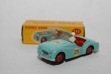 P DINKY TOYS 111 TRIUMPH TR2 TR 2 SPORTS CAR TURQUOISE MINT BOXED RARE SELTEN