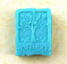 NATURAL Tree Rectangle Mould Craft Art Bakeware Silicone Handmade Soap DIY Molds