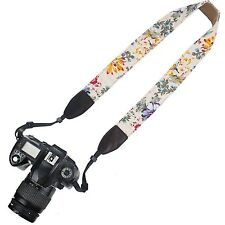 Elvam Camera Neck Shoulder Belt Strap For SLR DSLR Nikon Canon Sony Pentax
