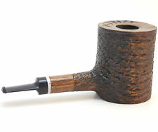 "Walnut Rusticated Giant Tobacco Pipe - Model Lumberjack 200 - 3"" Bowl - Mr. Brog"