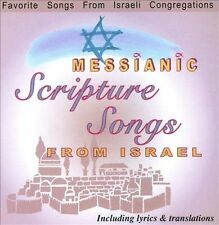 Messianic Scripture Songs From Israel by Messianic Scripture Songs Free Shipping