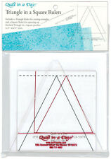 Quilt In A Day Triangle In A Square Ruler 2008 Sewing Quilting Notions