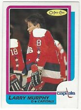 1986-87 OPC HOCKEY #185 LARRY MURPHY - EXCELLENT