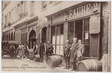 CPA - 69 - LYON - Théophile FAURE -Dépot d'huile d'olive d'Italie-2 rue Gadagne.