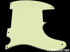 * NEW Mint Green Esquire PICKGUARD for Fender USA Vintage Tele 3 Ply 5 Hole