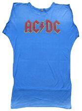 Amplified Official AC/DC ACDC logotipo estrella de rock vintage túnica VIP t-shirt XL 44