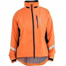 Showers Pass Double Century EX Cycling Jacket Womens Size XL Orange Waterproof
