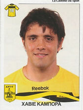 N°048 J. CAMPORA ARGENTINA ARIS SALONIKI STICKER PANINI GREEK GREECE LEAGUE 2010