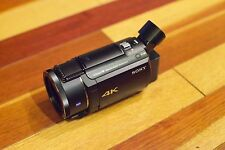 Sony FDR-AX53 4K Handycam Ultra HD Camcorder  + BOX