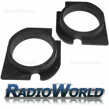 "Skoda Octavia MK1 165mm 6.5"" MDF Front Speaker Adaptors / Rings / Spacers"