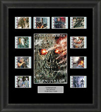 TERMINATOR 4 MOUNTED FRAMED 35MM FILM CELL MEMORABILIA SCHWARZENEGGER FILM CELLS