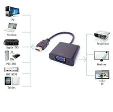 1080P HDMI Male to VGA Female Video Cord Converter Adapter Cable for PC HDTV TV