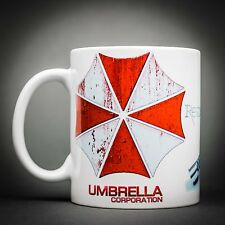 Resident Evil Logo Umbrella - Mug Tasse Cafe - 325 Ml - Capcom Virus Leon Chris.