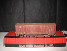 HO Scale Atlas Weathered SANTA FE PD 50' Braced Box Car ATSF 66212 with Box