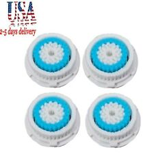 4pcs DEEP PORE Brush Heads for Clarisonic Mia, Mia2 Pro Plus replacement head US