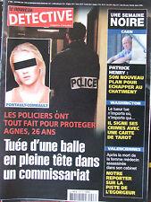 Détective n°1048 (16 oct 2002) Pontault Combault : tuée dans un commissariat