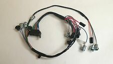1965 Impala Belair Dash Instrument Cluster Wiring Harness with Warning Lights