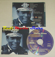 CD CHARLES BROWN Live BLUES 1995 ALTAYA M-24467/98 mc lp dvd vhs