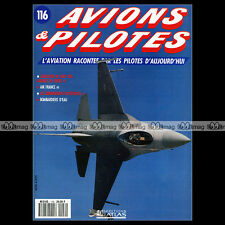 AVIONS & PILOTES N°116 F-16 FIGHTING FALCON F3D-2 SKYKNIGHT TU-4 IL-30 BEAGLE