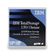 IBM 00V7590 LTO6 ULTRIUM 2.5 TB - 6.25 TB TAPES LTO-6 IBM WARRANTY 10 PACK NEW