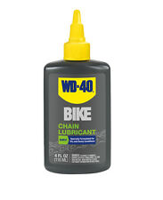 WD40 Bicycle Chain Lubricant Dry Conditions Bike Lube 4oz Drip Bottle WD-40 New