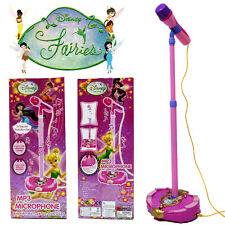 TINKERBELL FAIRIES KID EDUCATIONAL MICROPHONE MUSICAL INSTRUMENT SINGING MIC TOY