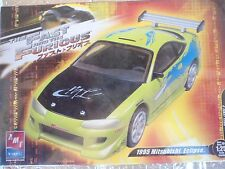 the FAST and THE FURIOUS 1995 MITSUBISHI ECLIPSE AMT ERTL  31983 WRAPPED 1:25