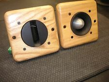 BLOWOUT! 2 NEW Solid Oak Horn Bezels for JBL 075, 076, 077, 2402 & 2405