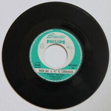 """Vinyle 45T Johnny Hallyday  """"Pour moi la vie va commencer"""" - juke box version"""