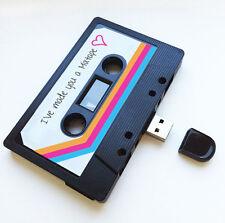 4GB USB Auténtico Mixtape-Regalo De Cumpleaños-Wedding Girlfriend, novio-lindo