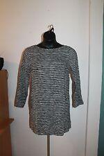 Gap Women's Black & White Striped Shift Dress Size XS