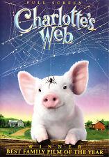 Charlotte's Web (DVD, 2006) FS John Cleese, Oprah Winfrey children & family film